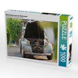 CALVENDO Puzzle Minimalismus unter der Motorhaube 1000 Teile Lege-Größe 64 x 48 cm Foto-Puzzle Bild von Meike Bölts