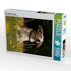 CALVENDO Puzzle Mit wehenden Ohren 1000 Teile Lege-Größe 48 x 64 cm Foto-Puzzle Bild von Meike Bölts