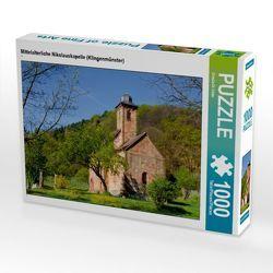 CALVENDO Puzzle Mittelalterliche Nikolauskapelle (Klingenmünster) 1000 Teile Lege-Größe 64 x 48 cm Foto-Puzzle Bild von Ursula Di Chito von Di Chito,  Ursula