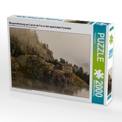 CALVENDO Puzzle Morgenstimmung am Carros de Foc in den spanischen Pyrenäen 2000 Teile Lege-Größe 90 x 67 cm Foto-Puzzle Bild von Thomas Bering