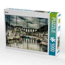 CALVENDO Puzzle Morlaix 1000 Teile Lege-Größe 64 x 48 cm Foto-Puzzle Bild von N N