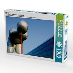 CALVENDO Puzzle München – Kunst und Architektur 1000 Teile Lege-Größe 64 x 48 cm Foto-Puzzle Bild von Martina Marten