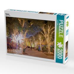 CALVENDO Puzzle Naples 2000 Teile Lege-Größe 90 x 67 cm Foto-Puzzle Bild von Klaus Feske