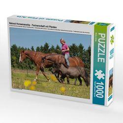 CALVENDO Puzzle Natural Horsemanship – Partnerschaft mit Pferden 1000 Teile Lege-Größe 64 x 48 cm Foto-Puzzle Bild von Meike Bölts