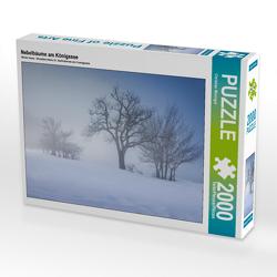 CALVENDO Puzzle Nebelbäume am Königssee 2000 Teile Lege-Größe 90 x 67 cm Foto-Puzzle Bild von Christian Müringer