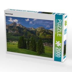 CALVENDO Puzzle Nesselwängle 2000 Teile Lege-Größe 90 x 67 cm Foto-Puzzle Bild von Steffen Gierok