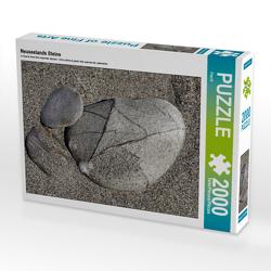 CALVENDO Puzzle Neuseelands Steine 2000 Teile Lege-Größe 90 x 67 cm Foto-Puzzle Bild von Flori0