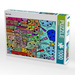 CALVENDO Puzzle New York 1000 Teile Lege-Größe 48 x 64 cm Foto-Puzzle Bild von Nico Bielow