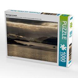 CALVENDO Puzzle Norwegen erwacht 1000 Teile Lege-Größe 64 x 48 cm Foto-Puzzle Bild von Christiane Calmbacher