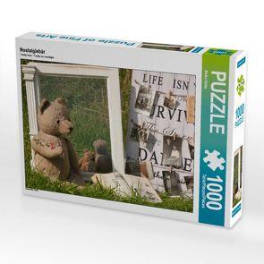 CALVENDO Puzzle Nostalgiebär 1000 Teile Lege-Größe 64 x 48 cm Foto-Puzzle Bild von Meike Bölts