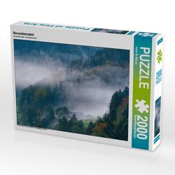 CALVENDO Puzzle Novembernebel 2000 Teile Lege-Größe 90 x 67 cm Foto-Puzzle Bild von Dieter-M. Wilczek