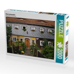 CALVENDO Puzzle Obercunnersdorf 2000 Teile Lege-Größe 90 x 67 cm Foto-Puzzle Bild von Flori0