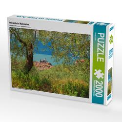 CALVENDO Puzzle Olivenhain Malcesine 2000 Teile Lege-Größe 90 x 67 cm Foto-Puzzle Bild von SusaZoom