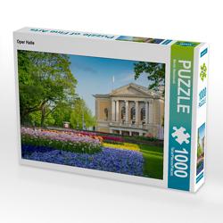 CALVENDO Puzzle Oper Halle 1000 Teile Lege-Größe 64 x 48 cm Foto-Puzzle Bild von Martin Wasilewski