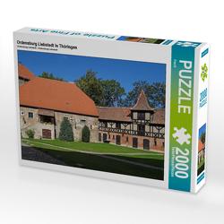 CALVENDO Puzzle Ordensburg Liebstedt in Thüringen 2000 Teile Lege-Größe 90 x 67 cm Foto-Puzzle Bild von Flori0