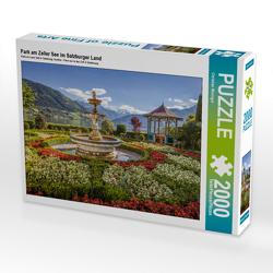 CALVENDO Puzzle Park am Zeller See im Salzburger Land 2000 Teile Lege-Größe 90 x 67 cm Foto-Puzzle Bild von Christian Müringer