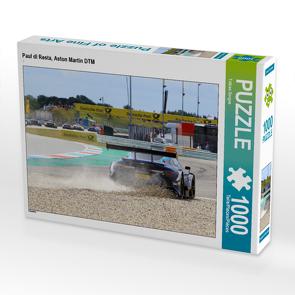CALVENDO Puzzle Paul di Resta, Aston Martin DTM 1000 Teile Lege-Größe 64 x 48 cm Foto-Puzzle Bild von Tobias Gorges