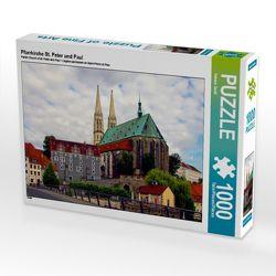 CALVENDO Puzzle Pfarrkirche St. Peter und Paul 1000 Teile Lege-Größe 64 x 48 cm Foto-Puzzle Bild von Helene Seidl von Seidl,  Helene