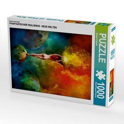 CALVENDO Puzzle PHANTASTISCHER REALISMUS – NEUE WELTEN 1000 Teile Lege-Größe 48 x 64 cm Foto-Puzzle Bild von Michael Borgulat von Borgulat,  Michael