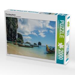 CALVENDO Puzzle Phra-Nang Beach 2000 Teile Lege-Größe 90 x 67 cm Foto-Puzzle Bild von Christian Müringer