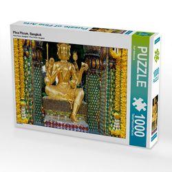 CALVENDO Puzzle Phra Phrom, Bangkok 1000 Teile Lege-Größe 64 x 48 cm Foto-Puzzle Bild von Ralf Wittstock