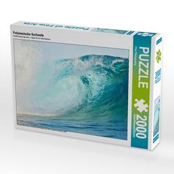 CALVENDO Puzzle Polynesische Surfwelle 2000 Teile Lege-Größe 90 x 67 cm Foto-Puzzle Bild von iPics Photography