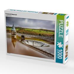 CALVENDO Puzzle Pontsticill Reservoir 1000 Teile Lege-Größe 64 x 48 cm Foto-Puzzle Bild von Urte Kortjohann Photography