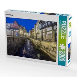 CALVENDO Puzzle Quedlinburg 2000 Teile Lege-Größe 90 x 67 cm Foto-Puzzle Bild von ReDi Fotografie