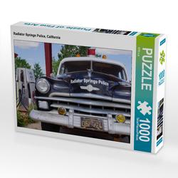 CALVENDO Puzzle Radiator Springs Police, California 1000 Teile Lege-Größe 64 x 48 cm Foto-Puzzle Bild von KPH u.a.