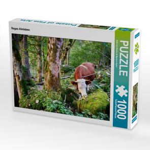 CALVENDO Puzzle Reges Almleben 1000 Teile Lege-Größe 64 x 48 cm Foto-Puzzle Bild von Sabrina Sierks & Meriem Bahri