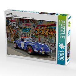 CALVENDO Puzzle Renault Alpine A110 1000 Teile Lege-Größe 64 x 48 cm Foto-Puzzle Bild von Ingo Laue von Laue,  Ingo