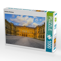 CALVENDO Puzzle Residenz Würzburg 1000 Teile Lege-Größe 64 x 48 cm Foto-Puzzle Bild von Dirk Meutzner
