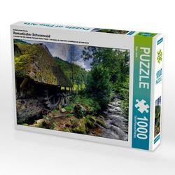 CALVENDO Puzzle Romantischer Schwarzwald 1000 Teile Lege-Größe 64 x 48 cm Foto-Puzzle Bild von Ingo Laue von Laue,  Ingo