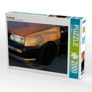 CALVENDO Puzzle Rostdesign 2000 Teile Lege-Größe 90 x 67 cm Foto-Puzzle Bild von Karin Sigwarth