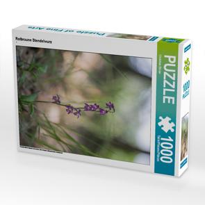 CALVENDO Puzzle Rotbraune Stendelwurz 1000 Teile Lege-Größe 48 x 64 cm Foto-Puzzle Bild von Christian Birzer