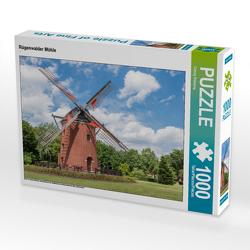 CALVENDO Puzzle Rügenwalder Mühle 1000 Teile Lege-Größe 64 x 48 cm Foto-Puzzle Bild von Conny Pokorny