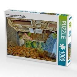 CALVENDO Puzzle Sainte-Lucie-de-Tallano, Korsika 1000 Teile Lege-Größe 48 x 64 cm Foto-Puzzle Bild von Annette Dupont von Dupont,  Annette