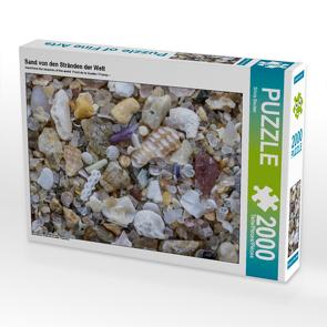 CALVENDO Puzzle Sand von den Stränden der Welt 2000 Teile Lege-Größe 90 x 67 cm Foto-Puzzle Bild von Silvia Becker