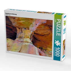 CALVENDO Puzzle Sanduhrverwitterung 1000 Teile Lege-Größe 64 x 48 cm Foto-Puzzle Bild von LianeM