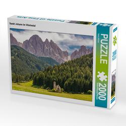 CALVENDO Puzzle Sankt Johann im Vilnösstal 2000 Teile Lege-Größe 90 x 67 cm Foto-Puzzle Bild von Harry Müller