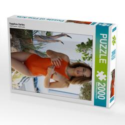 CALVENDO Puzzle Sapphos Garten 2000 Teile Lege-Größe 67 x 90 cm Foto-Puzzle Bild von N N