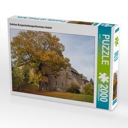 CALVENDO Puzzle Schloss Burgscheidungen/Sachsen-Anhalt 2000 Teile Lege-Größe 90 x 67 cm Foto-Puzzle Bild von Flori0