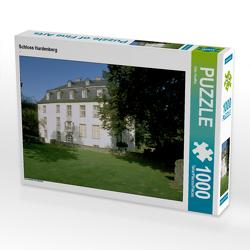 CALVENDO Puzzle Schloss Hardenberg 1000 Teile Lege-Größe 64 x 48 cm Foto-Puzzle Bild von Udo Haafke