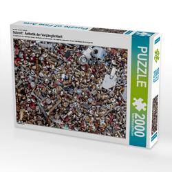 CALVENDO Puzzle Schrott: Ästhetik der Vergänglichkeit 2000 Teile Lege-Größe 90 x 67 cm Foto-Puzzle Bild von N N