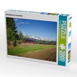 CALVENDO Puzzle Selketalbahn bei Hasselfelde 2000 Teile Lege-Größe 90 x 67 cm Foto-Puzzle Bild von Steffen Gierok