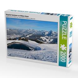 CALVENDO Puzzle Skigebiet Hartkaiser am Wilden Kaiser 2000 Teile Lege-Größe 90 x 67 cm Foto-Puzzle Bild von SusaZoom