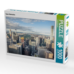 CALVENDO Puzzle Skyline Upper Manhattan 1000 Teile Lege-Größe 64 x 48 cm Foto-Puzzle Bild von Philipp Blaschke