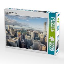 CALVENDO Puzzle Skyline Upper Manhattan 2000 Teile Lege-Größe 90 x 67 cm Foto-Puzzle Bild von Philipp Blaschke