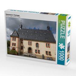 CALVENDO Puzzle Sömmerda in Thüringen 1000 Teile Lege-Größe 64 x 48 cm Foto-Puzzle Bild von Flori0