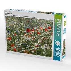 CALVENDO Puzzle Sommerfeld 1000 Teile Lege-Größe 64 x 48 cm Foto-Puzzle Bild von Flori0